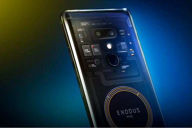 El Exodus es una apuesta de HTC al mercado de las criptomonedas a pesar de la incertidumbre que las rodea (Foto: HTC)