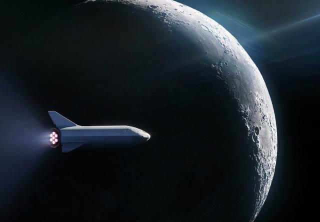 SpaceX se ha perfilado como la empresa que más ventaja lleva en la nueva carrera espacial (Foto: @SpaceX)
