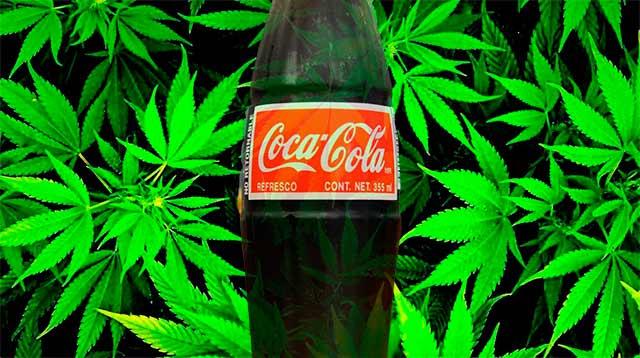 Las ventas de bebidas en EU dirigen a Coca Cola más por el lado del café que de la marihuana.