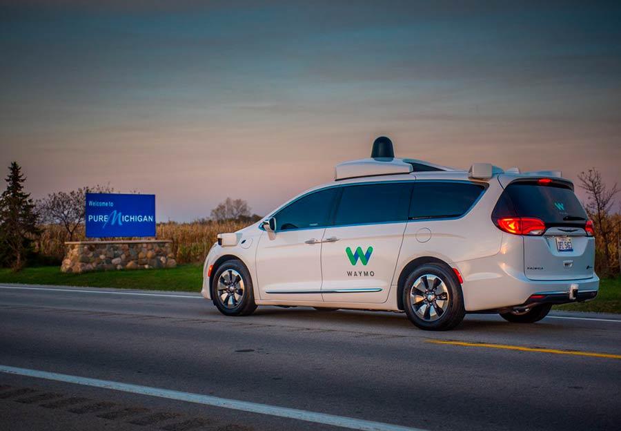 Waymo ya prueba sus coches autónomos en 25 ciudades de Estados Unidos (Foto:@Waymo)