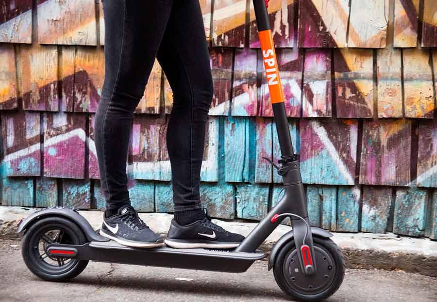 Ford adquirió la compañía de scooters Spin por casi 100 millones de dólares a inicios de noviembre (Foto:@ridespin)