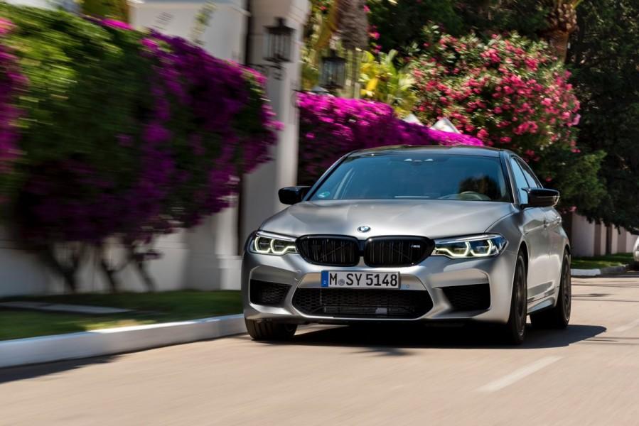 Con 625 caballos de fuerza, M5 Competition es la versión más potente de este icónico sedán de BMW (Foto: Twitter@BMWPolanco).