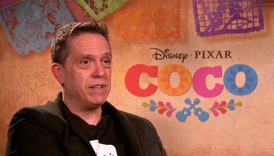 Lee Unkrich es codirector de las obras maestras de Pixar: Toy Story 2; Monsters, Inc.y Buscando a Nemo; y director deToy Story 3 y Coco