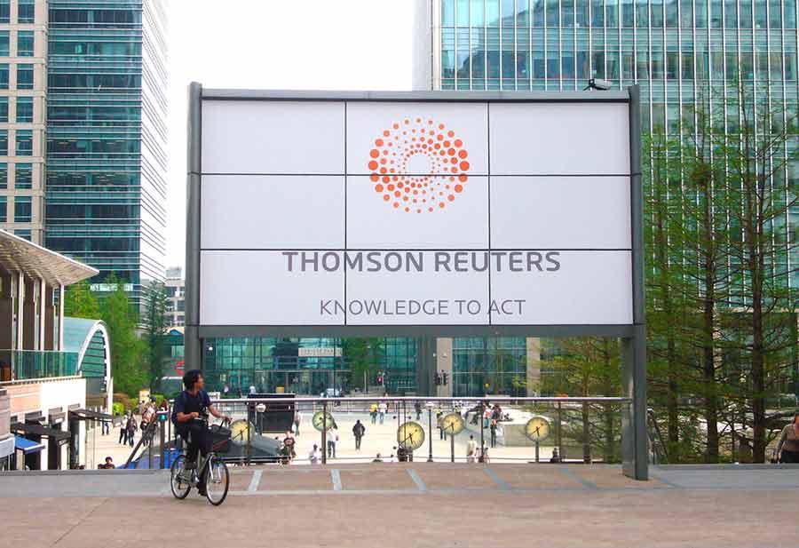 Los resultados financieros de Thomson Reuters en los últimos tres trimestres han sido poco alentadores (Foto: Gordon Joy/Algunos derechos reservados)