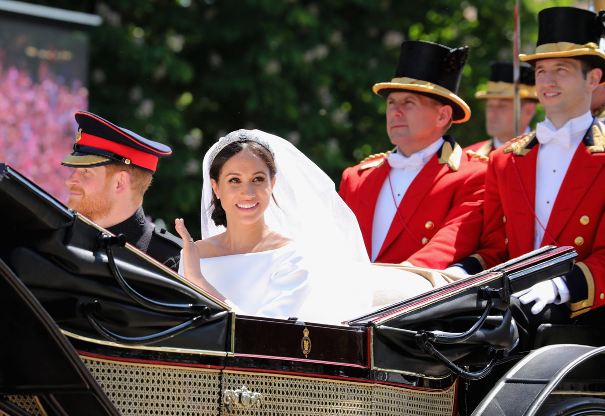 Boda Real entre Megan y Harry