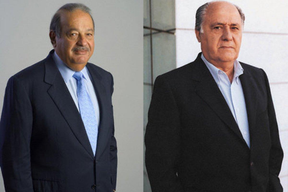 Amancio Ortega, de Zara, es el tercer hombre más rico del mundo por encima de Carlos Slim, dice Bloomberg