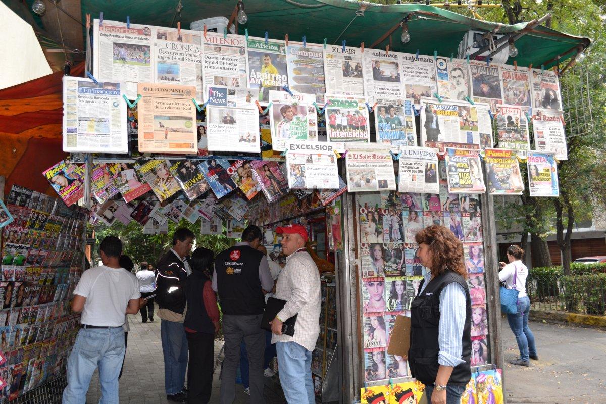 En la categoría de Homicidios en la prensa al 2012, México obtuvo una calificación de 3.3, misma obtenida en 2011.