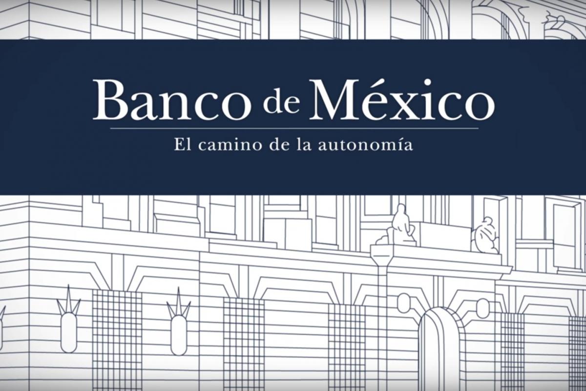 El documental 'El Camino de la Autonomía', dirigida por Enrique Krauze, narra en 43 minutos la historia del banco central en voz de sus protagonistas, gobernadores y subgobernadores