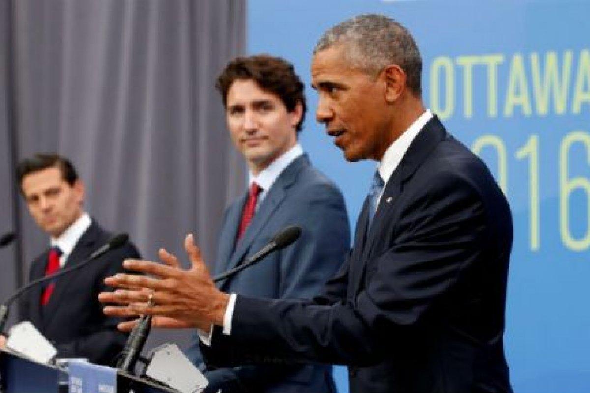 Estados Unidos podría perder trabajos y eficacia si se aísla dentro de una economía global, señaló Barack Obama