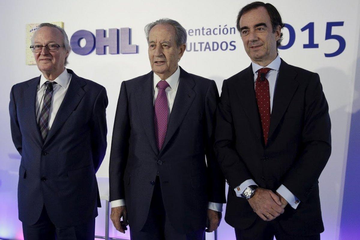 México amortigua el desplome de acciones de Grupo OHL en España