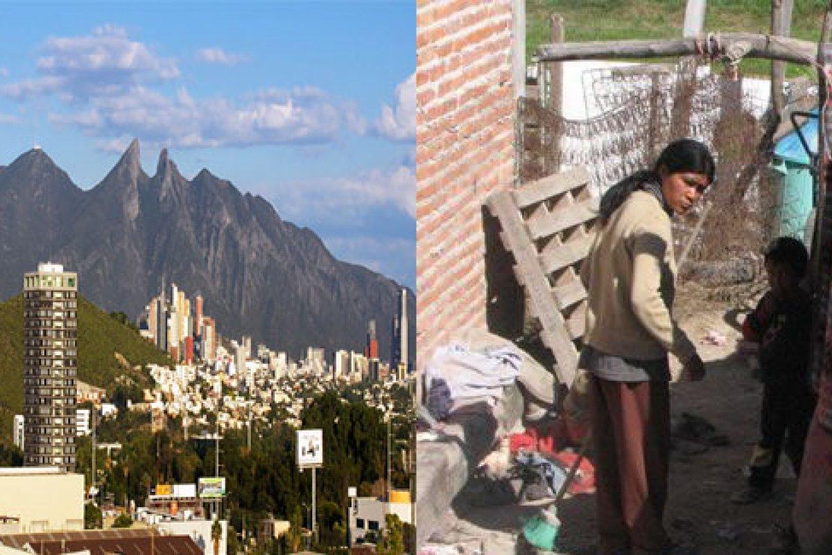 En Nuevo León 4.1% de las famialias no tiene acceso a servicios básicos en su vivienda, en Guerrero esta proporción se eleva a 66%, de ese tamaño es el reto en México.