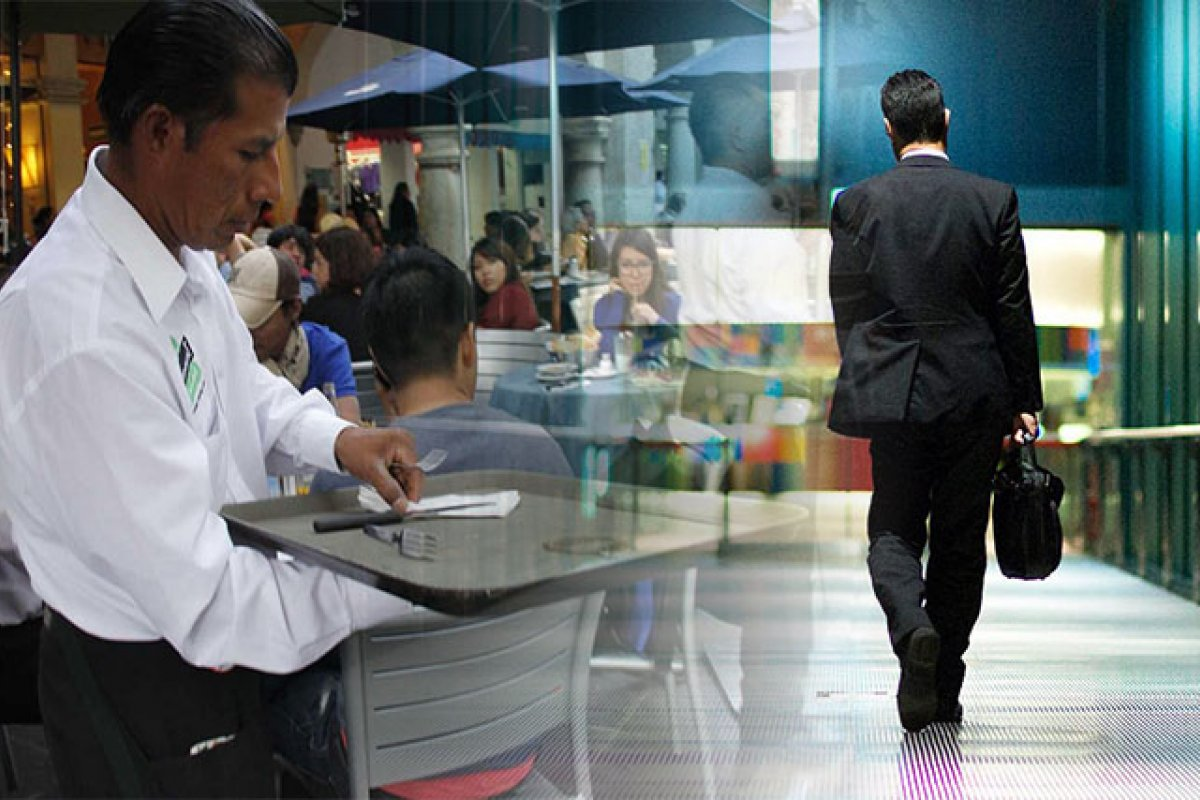 México es el décimo país más desigual de entre 101 naciones donde el Grupo del Banco Mundial midió esa característica
