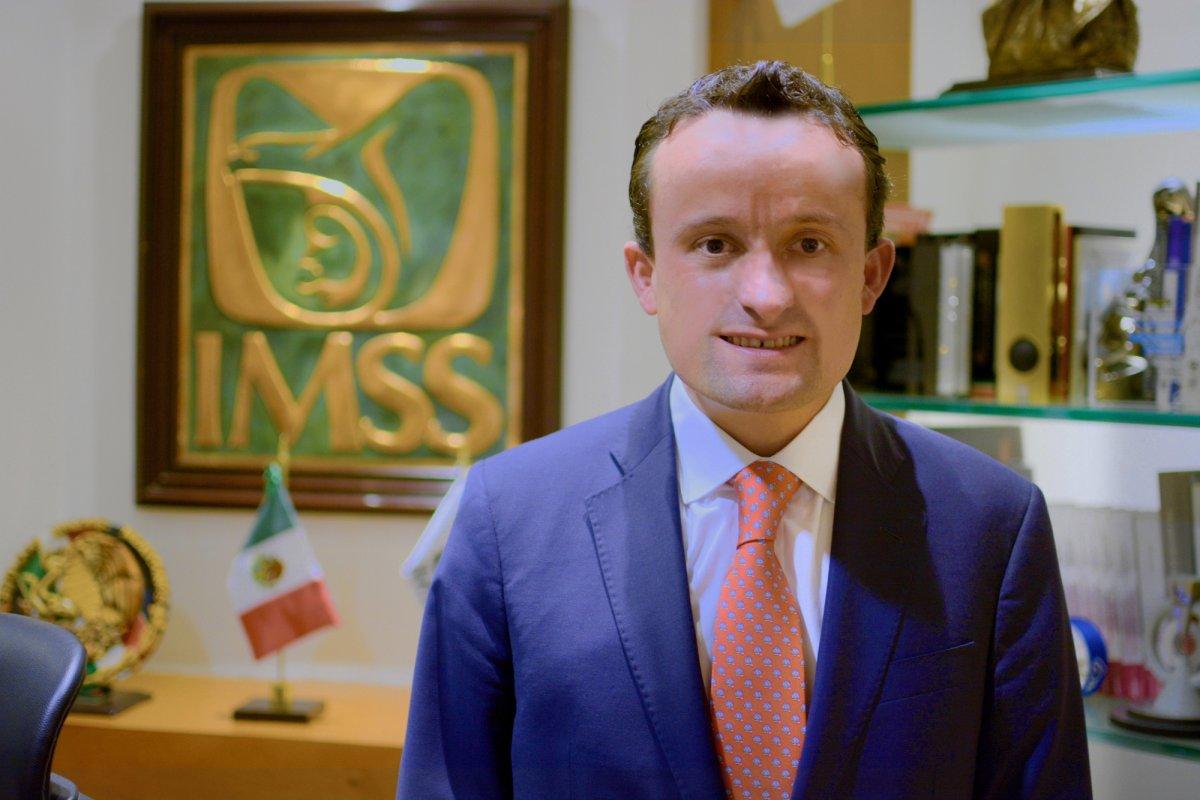 """""""Teníamos una subrogación legal, pero muy cara, concentrada en pocos proveedores que les dejaban ganancias extra normales,"""" señala Mikel Arriola, director general del IMSS."""