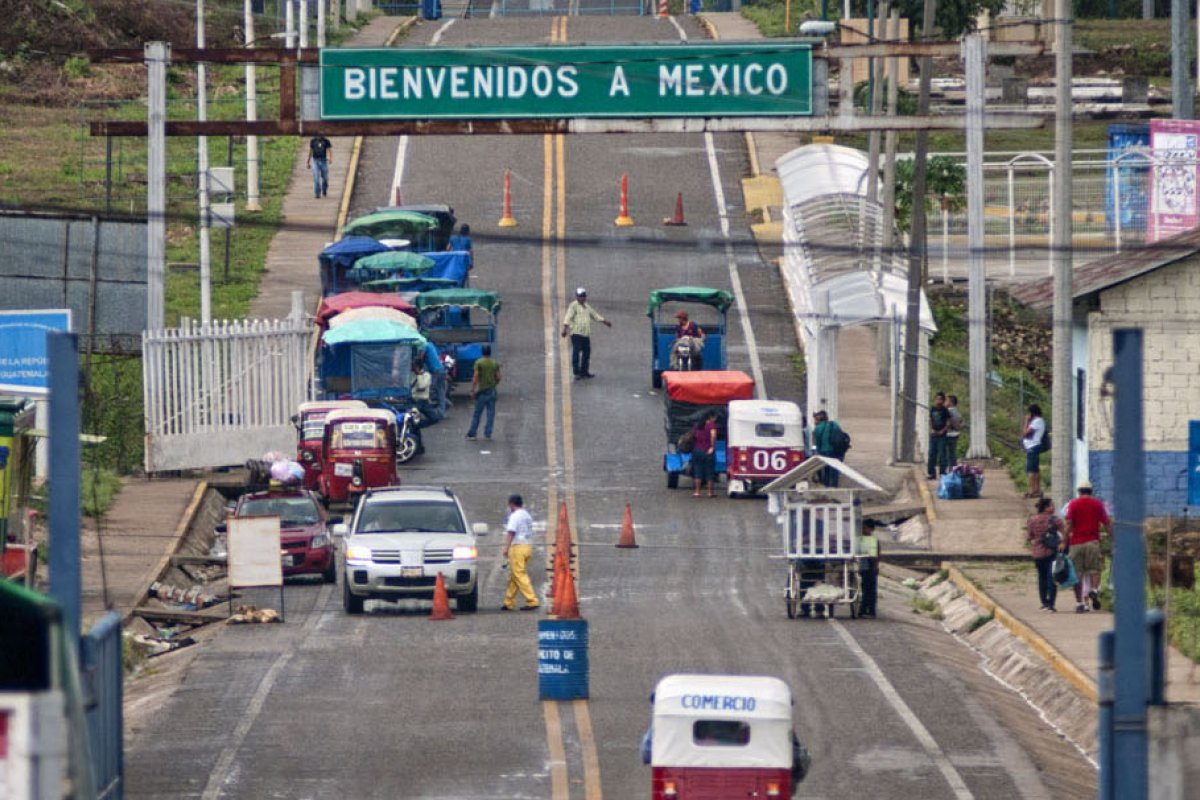 Tan solo en la franja con Guatemala se detectaron 56 cruces fronterizos vehiculares informales y 65 de tipo fluvial.
