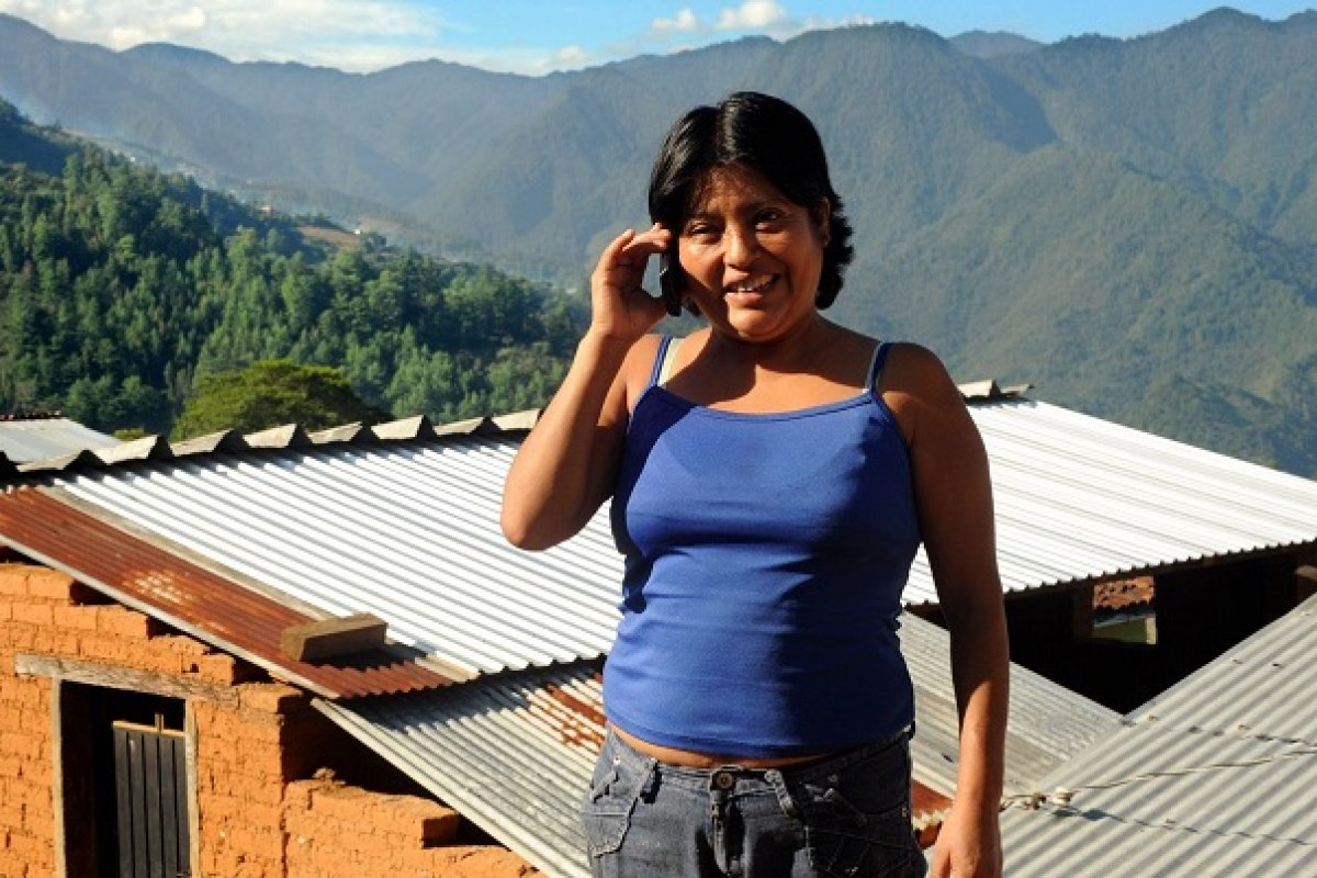 Los datos revelan que es la dispersión de las comunidades y no la pobreza, una de las principales causas de los huecos en la cobertura de telefonía móvil.