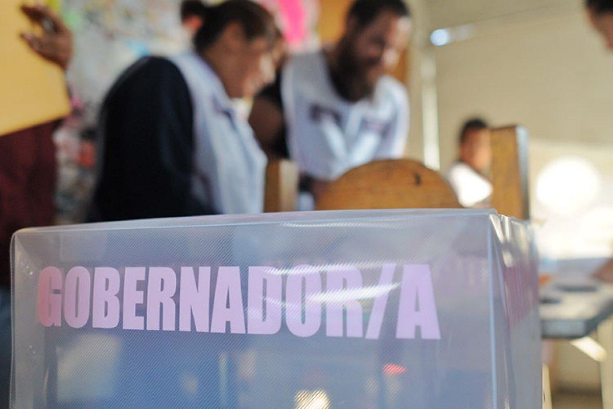 La participación en las cuatro entidades oscila entre 52% y 65% del padrón electoral.