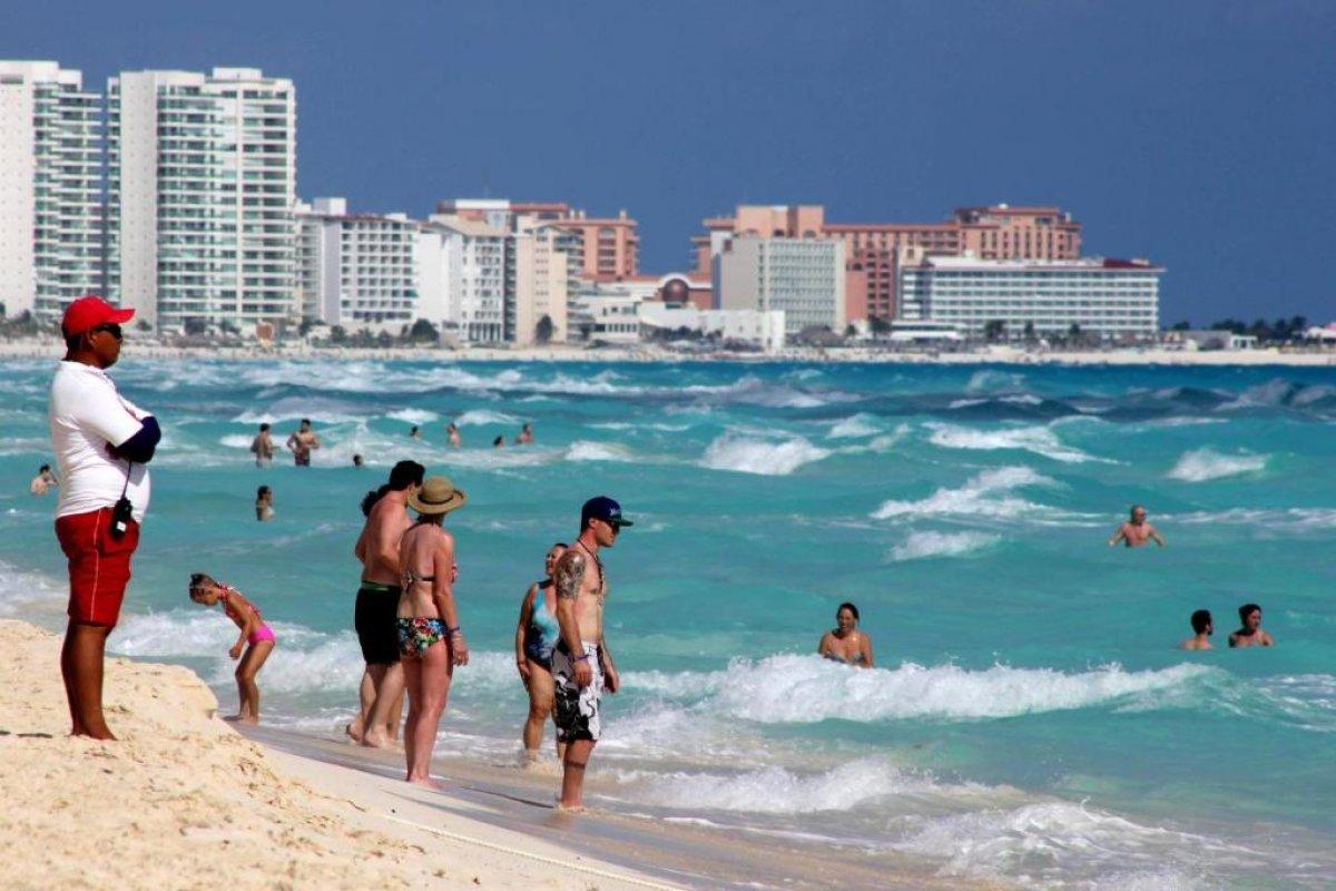 Quintana Roo es el estados que más turismo internacional atrae de todo el país.