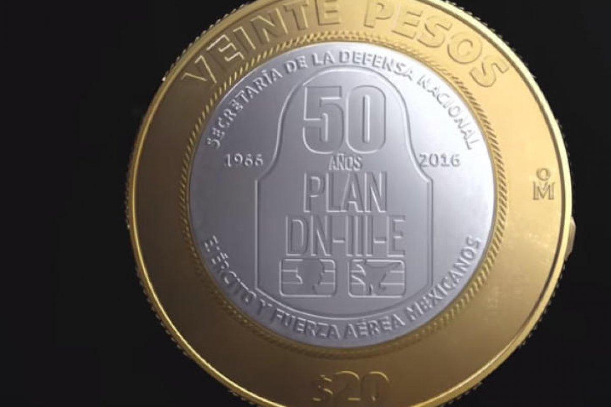 Conoce la nueva moneda conmemorativa de 20 pesos