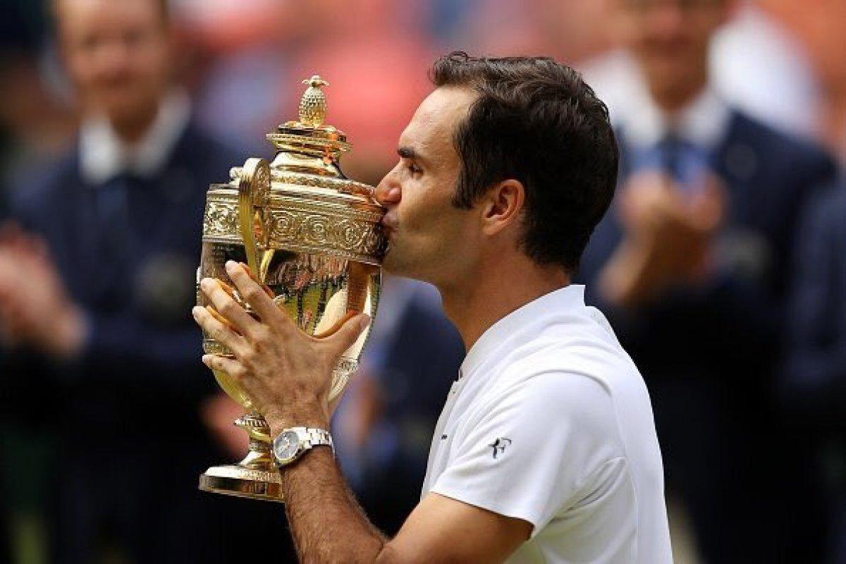 Roger Federer ganó su octavo trofeo de Wimbledon sobre Marin Cilic