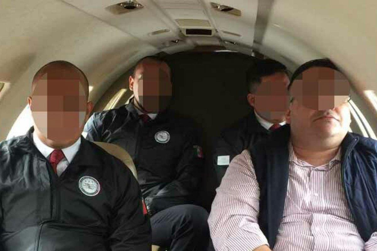 Duarte viajó en un avión del gobierno mexicano