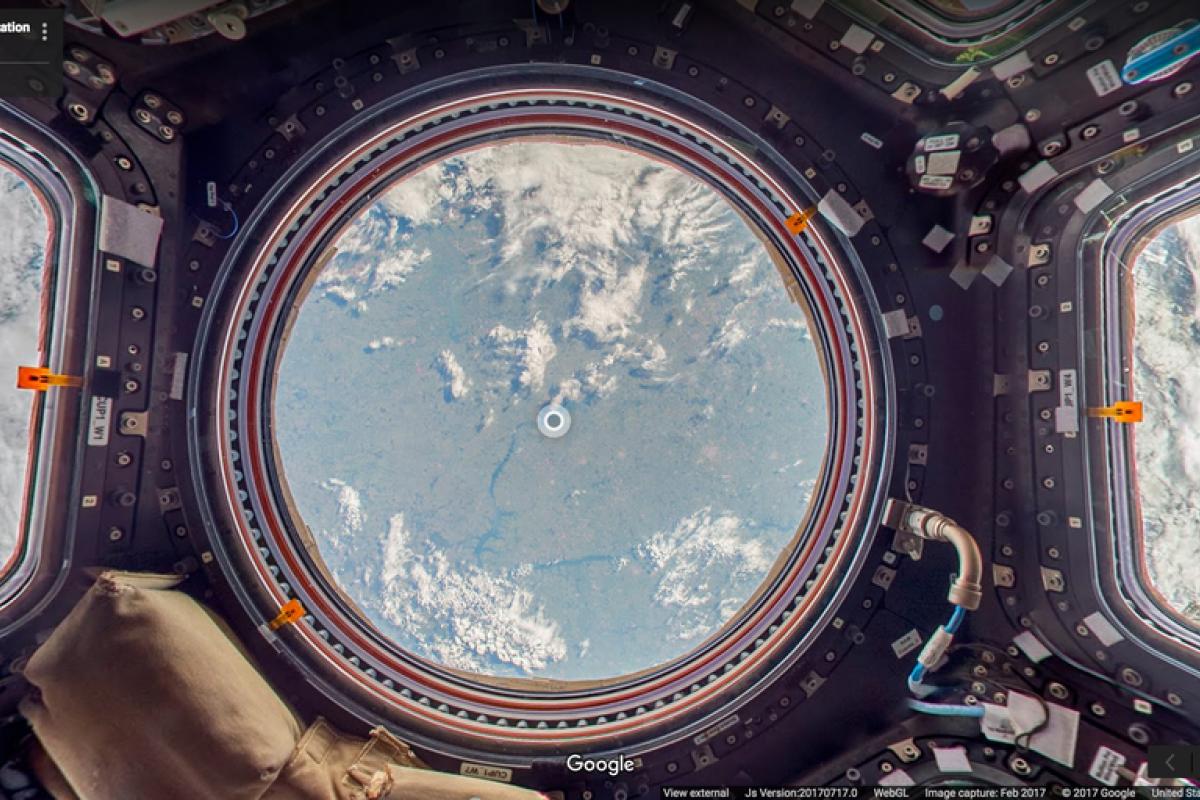 Google Street View te permite conocer la Estación Espacial