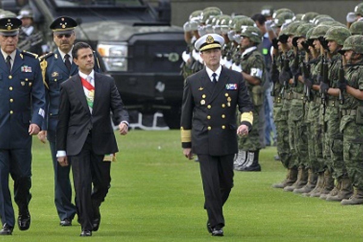 Para EPN es fundamental salvaguardar la seguridad interior del país, para esto propone el uso de los elementos de las fuerzas armadas.