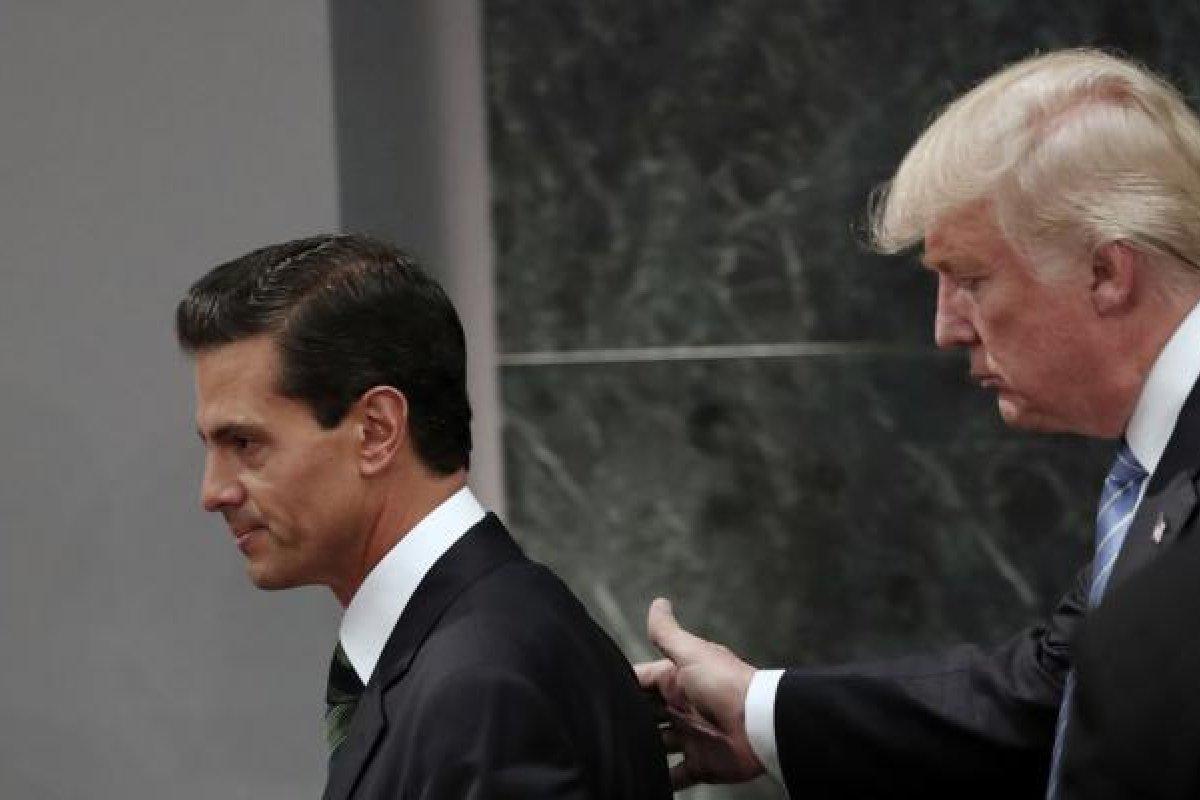 Trump insistió en que Peña no dijera que México no pagará el muro