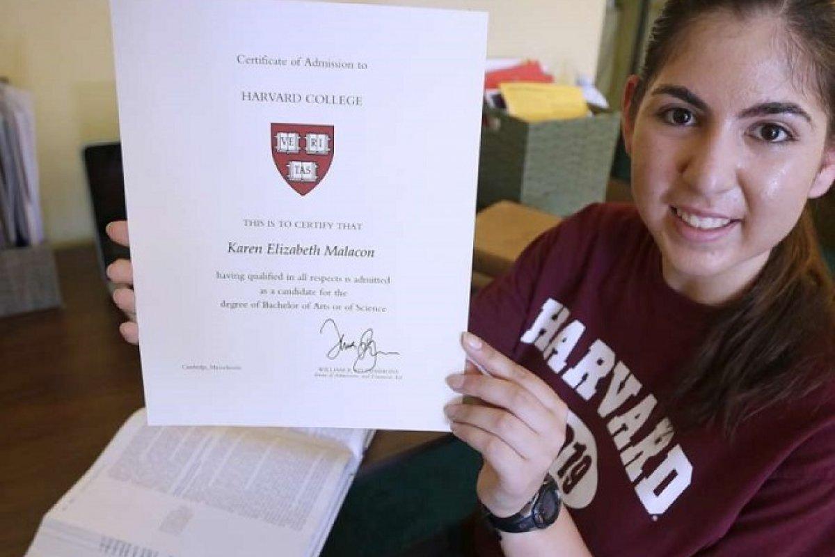 Karen Malacon es parte del 12% de hispanos y latinos que integran la matrícula de Harvard.