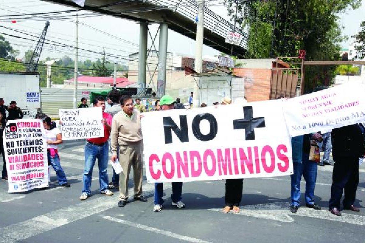 Las nuevas obras generan protestas vecinales, que generalmente no tienen efecto en el gobierno.