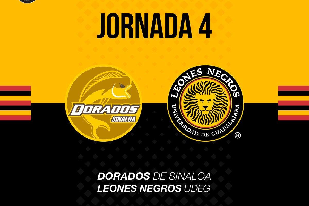 Dorados y Leones Negros cierran la jornada 4 del Ascenso Mx