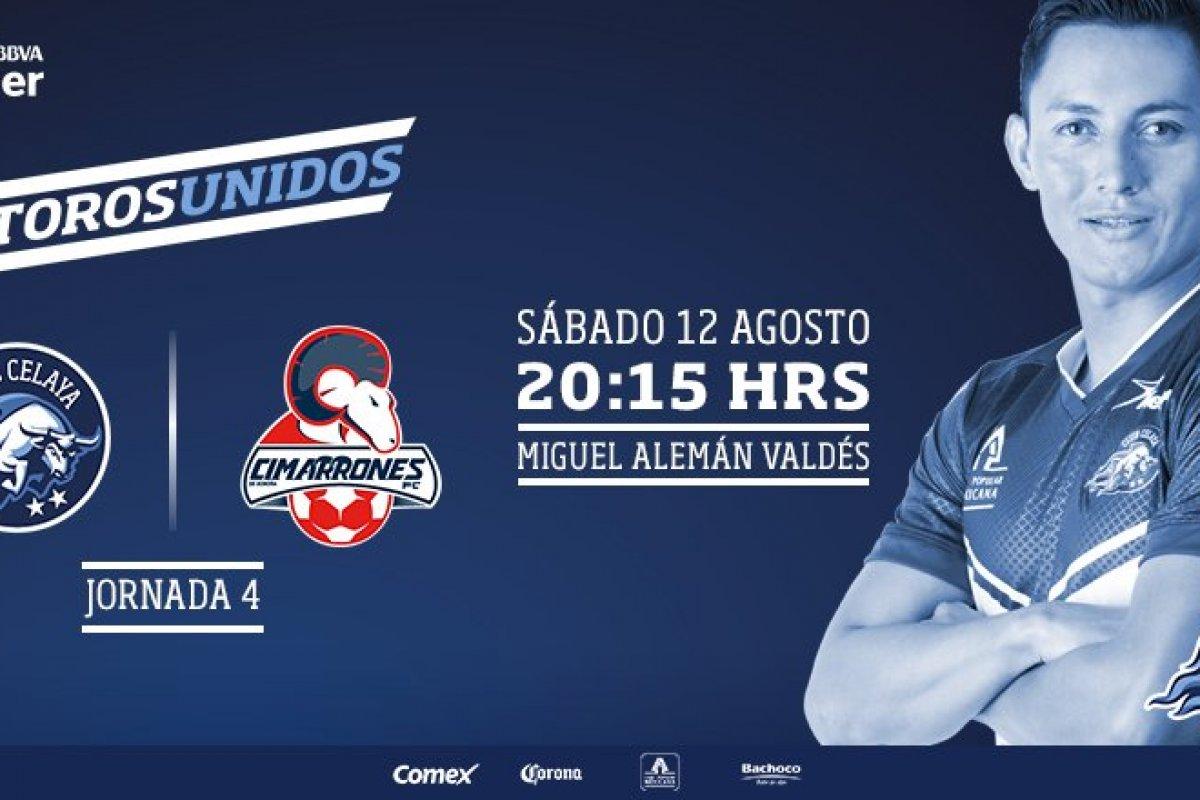 Celaya y Cimarrones se enfrentan en la Jornada 4 del Ascenso MX