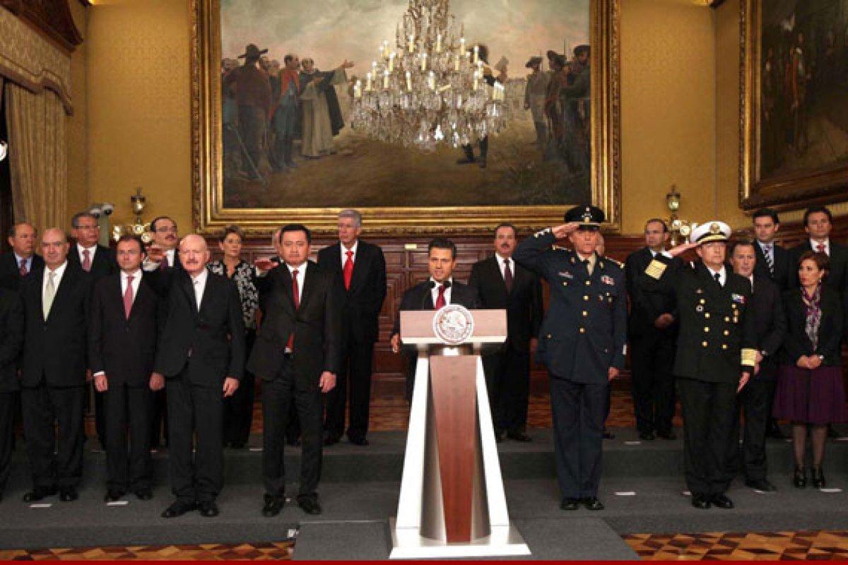 En su mayoría los integrantes de los gabinetes presidenciales son egresados de la UNAM de licenciaturas como Economía y Derecho. (Foto. Notimex)