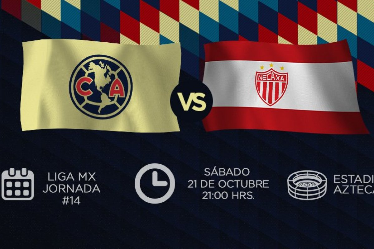 En vivo: América vs Necaxa de la jornada 14 Liga MX