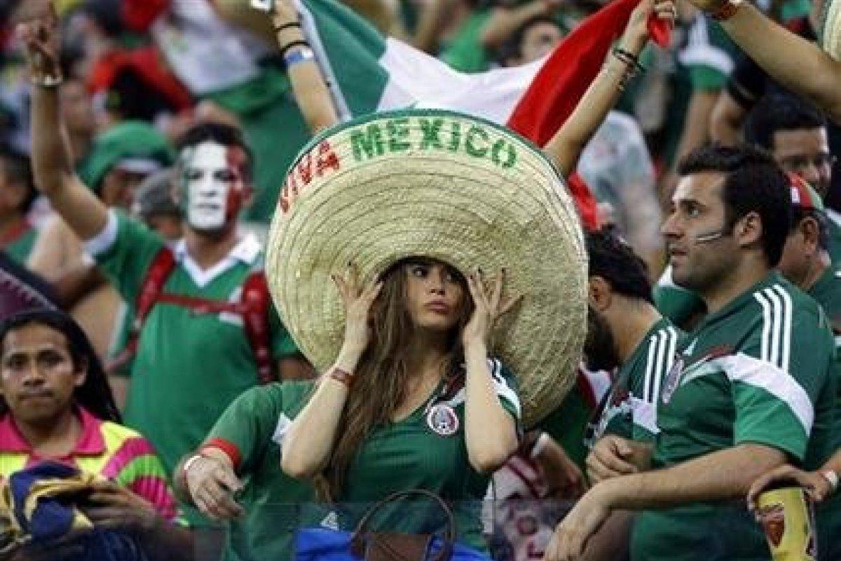 En las tribunas, los mexicanos son protagonistas en cada Copa del Mundo.