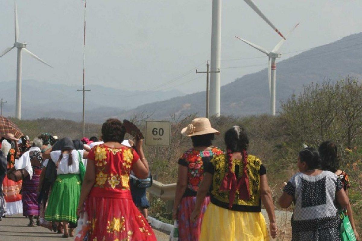 La Suprema Corte evalúa atraer el caso de las comunidades indígenas de Oaxaca contra Eólica del Sur.