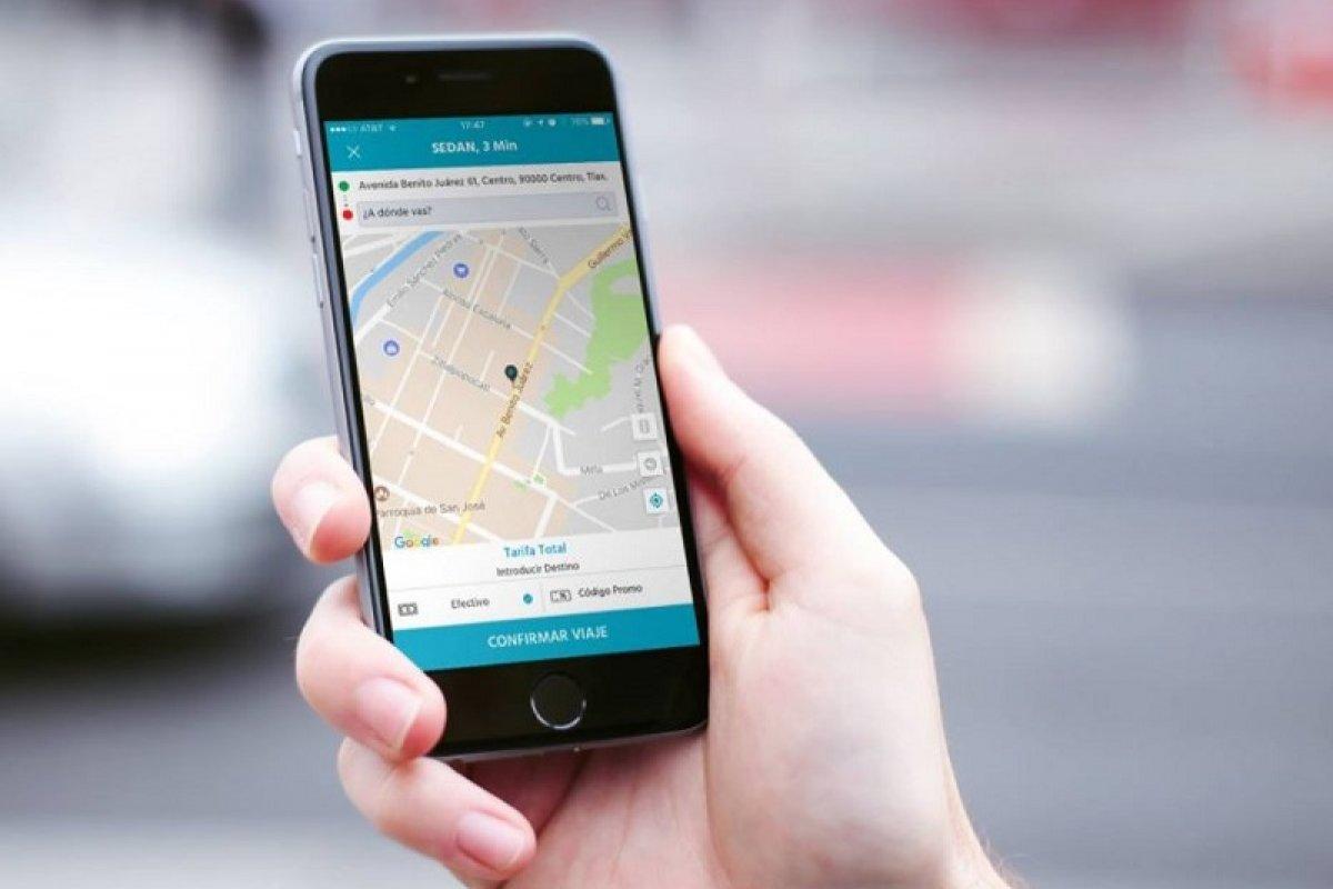 Con 25 choferes la aplicación empezó a funcionar en la capital de Tlaxcala el 10 de noviembre pasado.