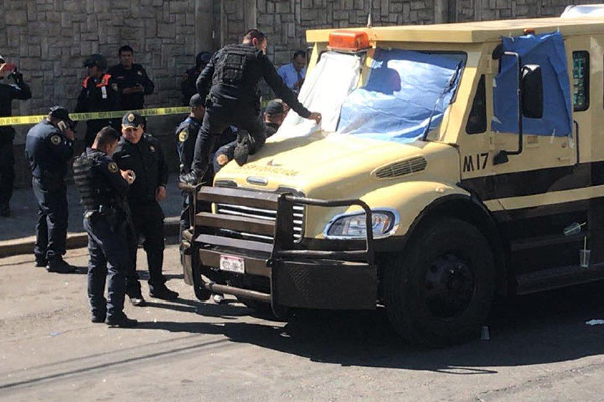 Mueren 3 custodios cerca del AICM. Foto por Rodolfo Dorantes.