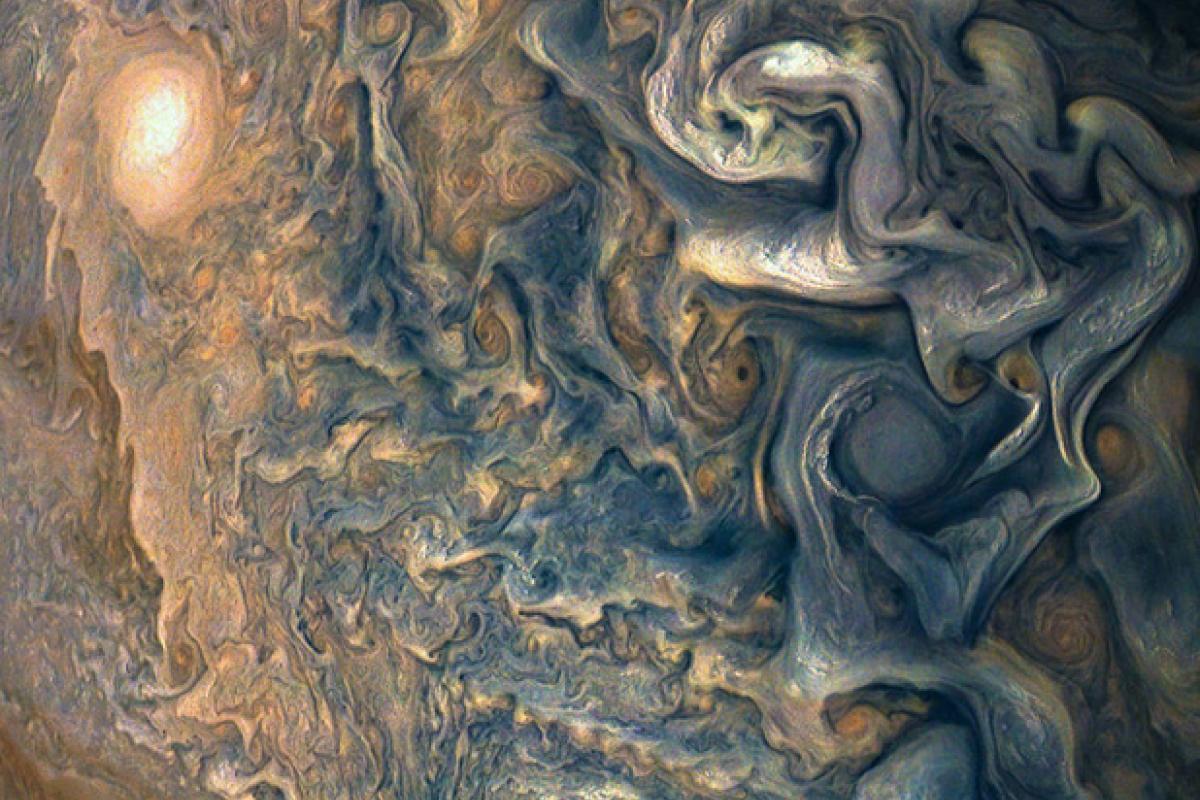 Júpiter. Foto: Instagram / NASA