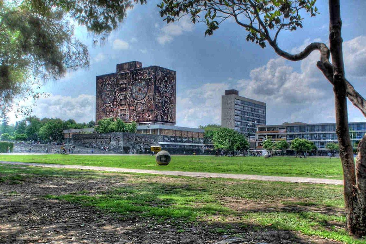 Universidad Nacional Autónoma de México. Foto: UNAM/Wikimedia