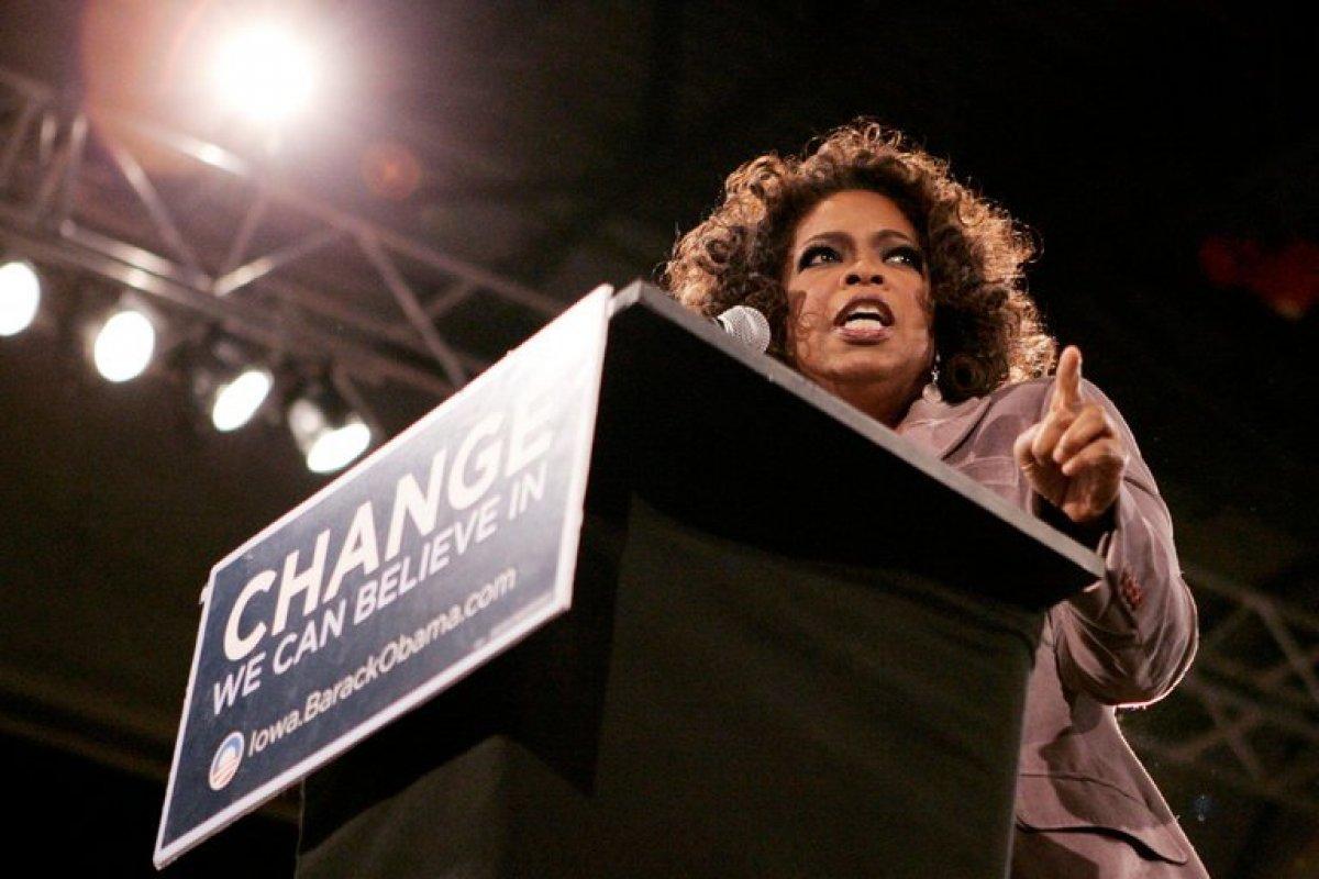 Con la etiqueta #Oprah2020 la empresaria fue señalada como una posible candidata a la presidencia de EU.