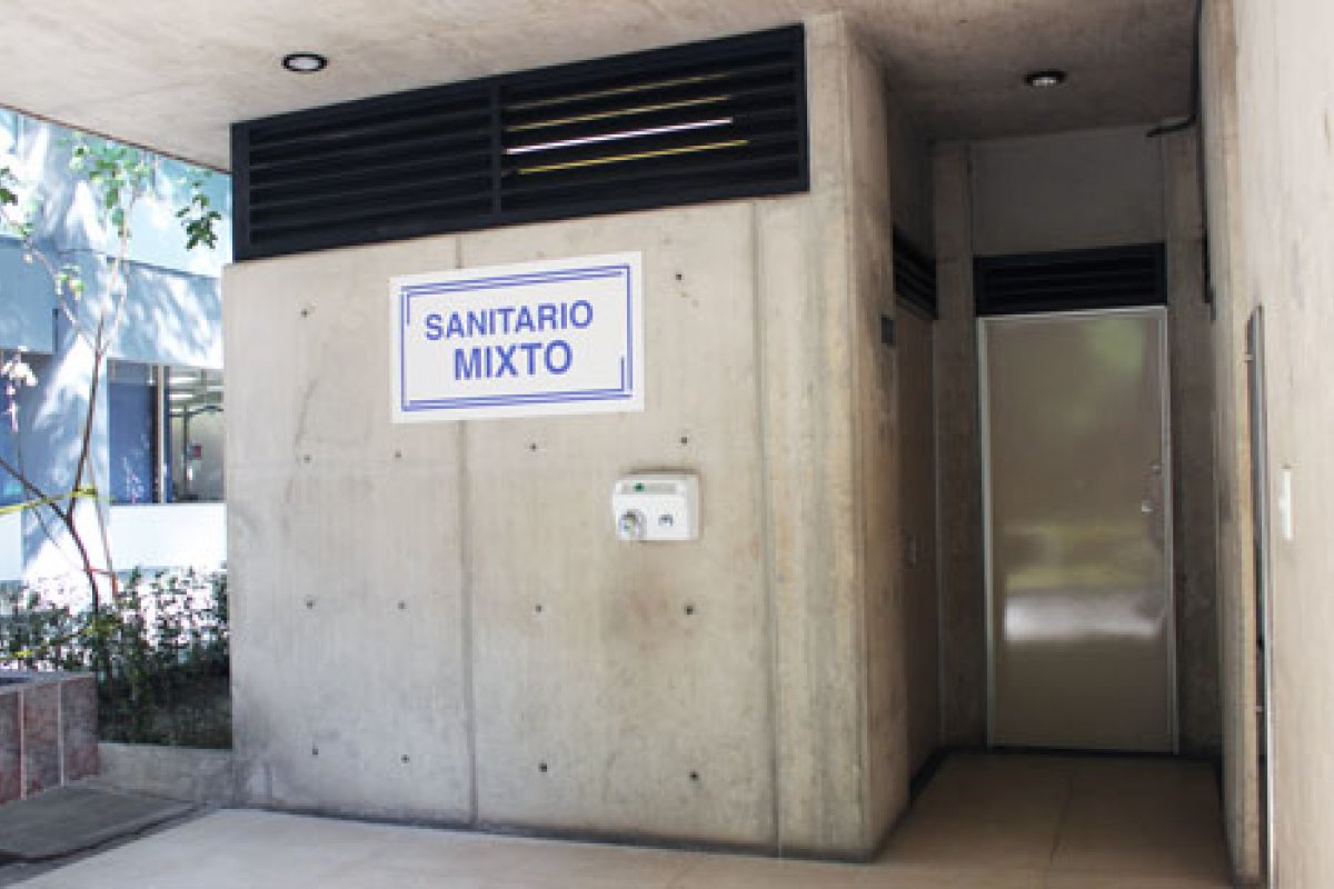 Ya están abiertos para la comunidad los primeros baños mixtos de la UNAM