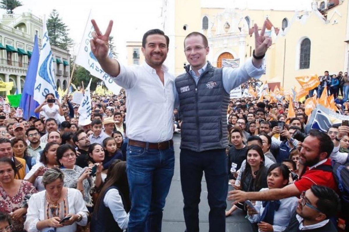 Ricardo Anaya, quien en la mayoría de las encuestas presidenciales se encuentra en segundo lugar, fue acusado de lavado de dinero.