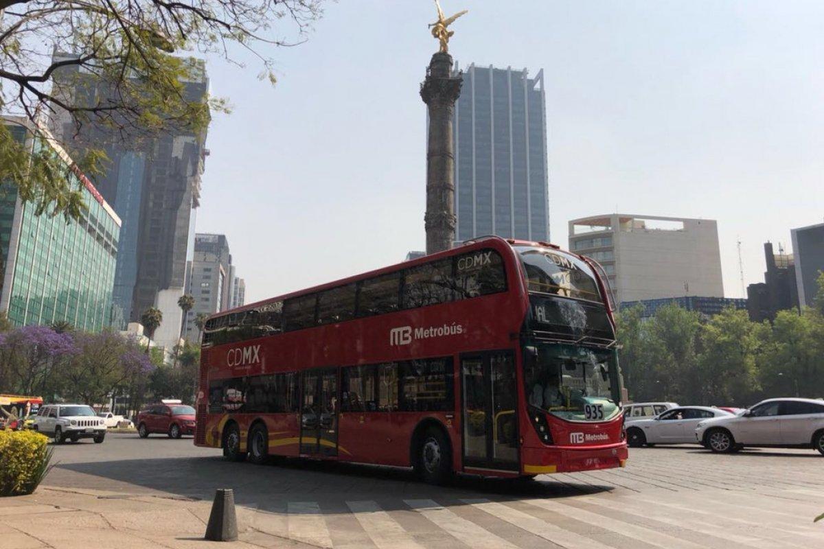 Después de una serie de controversias, por fin arrancará la Línea 7 del Metrobús sobre Reforma.