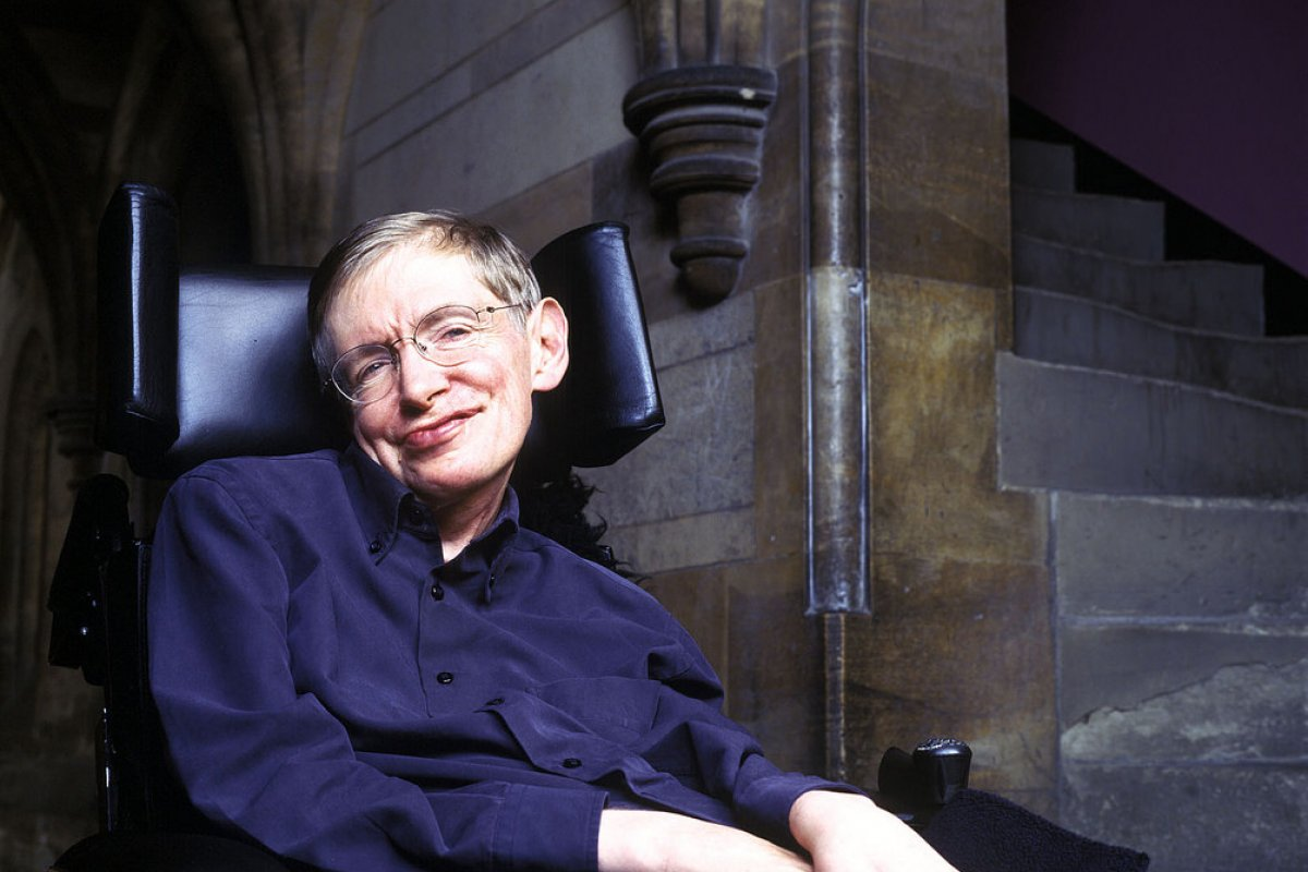 Foto: Stephen Hawking/Flickr