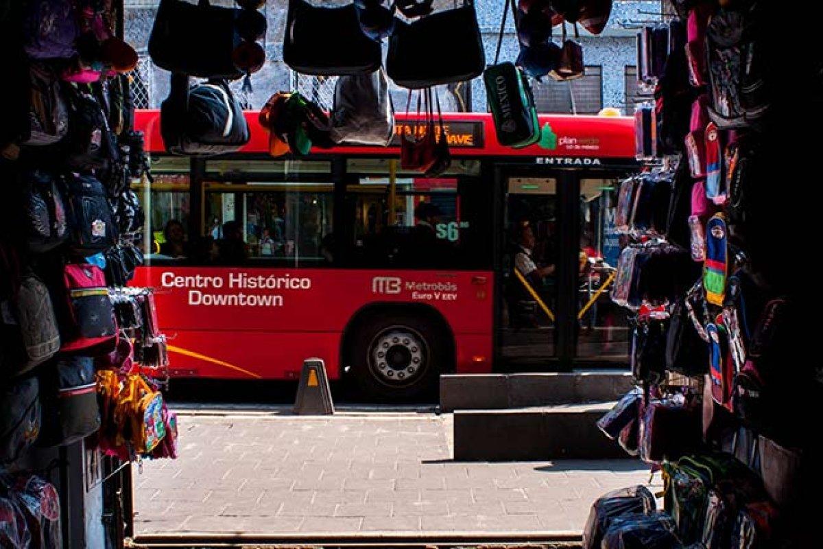 El transporte es uno de los problemas que afectan la productividad del Valle de México (Foto: WRI Ross Center for Sustainable Cities)
