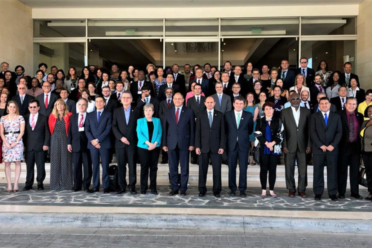 En Costa Rica se reunió el grupo oficial de los delegados asistentes a la Novena Reunión del Comité de Negociación del Acuerdo Regional sobre el Principio 10. (Foto: CEPAL)