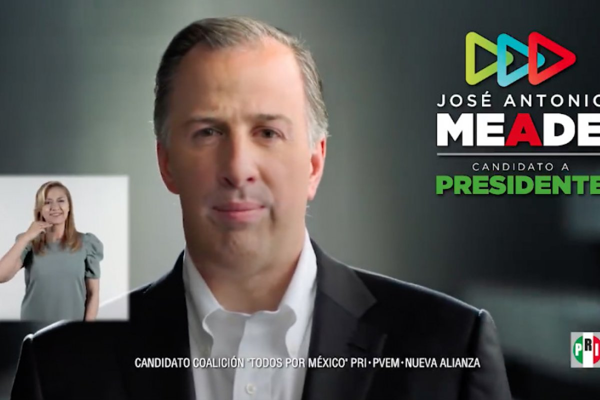 Foto: Jose Antonio Meade Kuribeña /Video Facebook