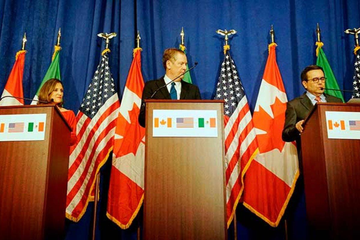 Las próximas elecciones en México y Estados Unidos también están apresurando la negociación del TLCAN (Foto: Departamento de Estado de los Estados Unidos)