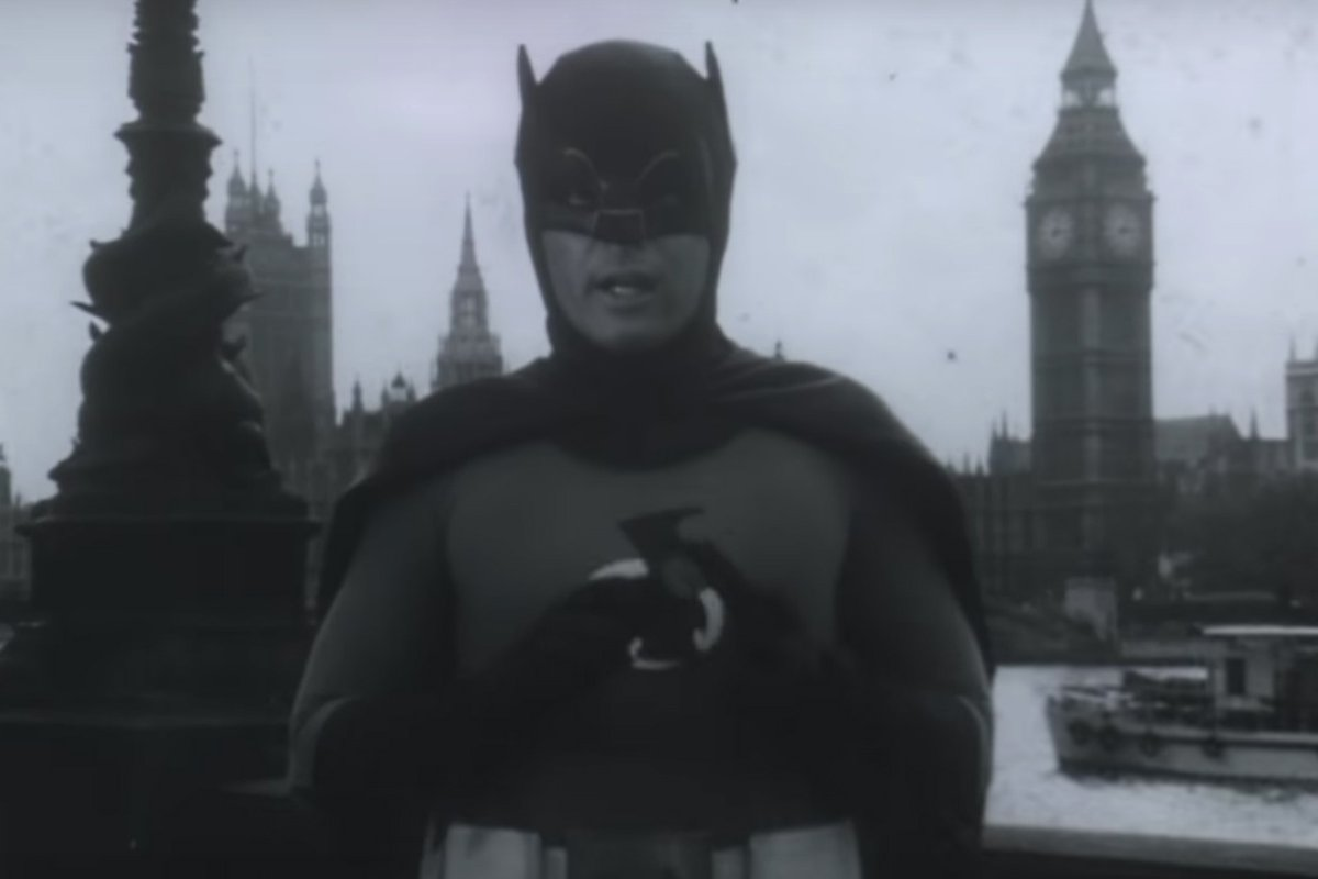 Foto: Adam West como Batman/Captura de Pantalla