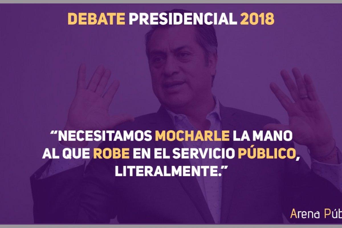 Las frases memorables no se hicieron esperar en el primer debate rumbo a la elección presidencial del 1ro de julio.